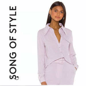NEW Revolve's Song of Style Nori Shirt Button Down